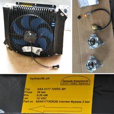 Bild von Öl Luft-Kühler ASA 0177 12V DC