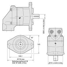 Bild von Axialkolbenpumpe F11-019-RB-SN-S