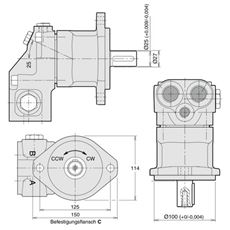 Bild von Axialkolbenpumpe F11-014-RB-CV-K-000