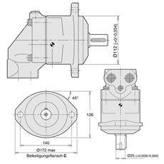 Bild von Axialkolbenpumpe F11-019-RB-CV-K-000