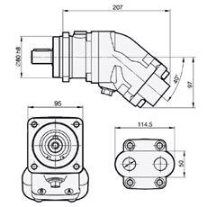 Bild von Motor SCM-012W-N-I41-K25-S3G-100
