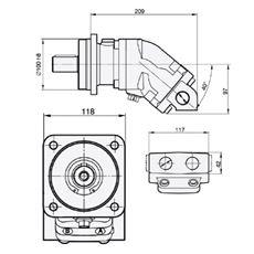 Bild von Motor SCM-017W-N-I42-K30-K3G-100