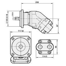 Bild von Motor SCM-017W-N-SB4-B25-S3G-100