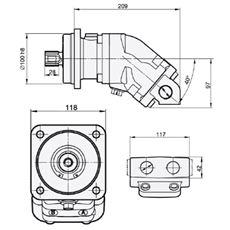 Bild von Motor SCM-025W-N-I42-W30-K3G-100