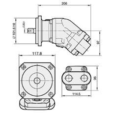 Bild von Motor SCM-025W-N-SB4-B25-S3G-100