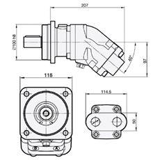 Bild von Motor SCM-025W-V-I42-K30-S3G-100