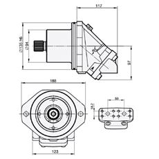 Bild von Motor SCM-025W-V-M21-W30-V2M-100