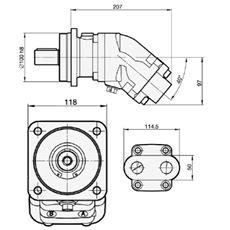 Bild von Motor SCM-034W-N-I42-K30-S3G-100