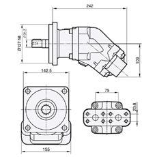 Bild von Motor SCM-047W-N-SC4-C32-S2U-100