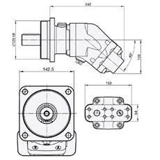 Bild von Motor SCM-047W-N-I43-K35-S2M-100