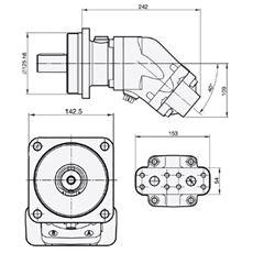 Bild von Motor SCM-064W-N-I43-K35-S2M-100