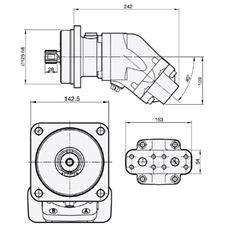 Bild von Motor SCM-047W-N-I43-W30-S2M-100