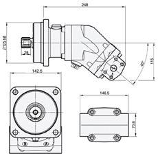 Bild von Motor SCM-047W-N-I43-W32-R1M-100