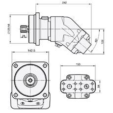 Bild von Motor SCM-056W-N-I43-W30-S2M-100
