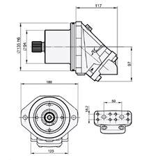 Bild von Motor SCM-034W-V-M21-W30-V2M-100