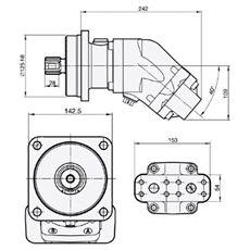 Bild von Motor SCM-056W-N-I43-W35-S2M-100