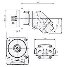 Bild von Motor SCM-064W-N-I43-W35-S2M-100