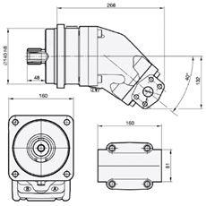 Bild von Motor SCM-084W-H-I44-W40-R1M-100