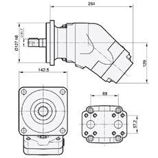Bild von Motor SCM-084W-N-SC4-C32-S1U-100