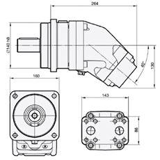Bild von Motor SCM-084W-N-I44-K40-S1M-100