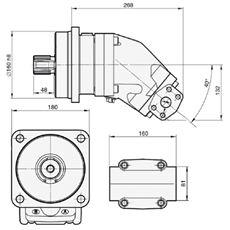 Bild von Motor SCM-108W-H-I45-W45-R1M-100