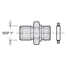 """Bild von Nippelsatz BSP 1"""" für VP1-045/-075"""