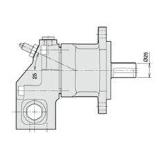 Bild von Axialkolbenmotor F11-014-HB-CV-K-000