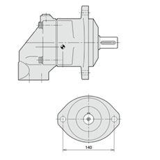 Bild von Axialkolbenmotor F11-019-MB-CV-K-000