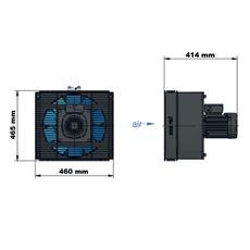 Bild von Öl Luft-Kühler ASA TT 16RA 230/400 V AC