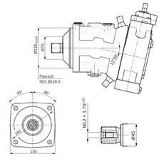 Bild von Axialkolbenpumpe A7VO55HD1/63L-NZB01