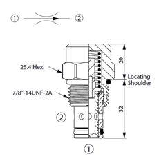 Bild von Stromregelventil FR-10W-20-018-N