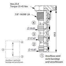 Bild von Stromteiler/Mengenteiler FD-10W-50:50