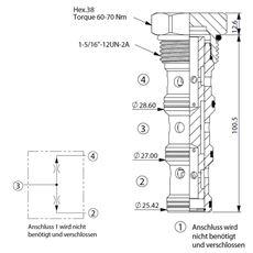 Bild von Stromteiler/Mengenteiler FD-16W-50:50