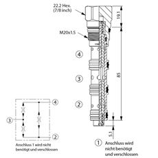 Bild von Stromteiler/Mengenteiler FD-31A-50:50