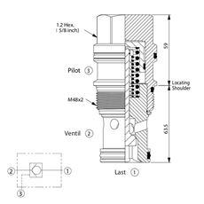 Bild von Rückschlagventil CO-19A-30-20-N, T-19A