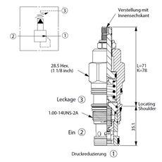 Bild von Druckreduzierventil PB-2A-30-B-L