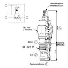 Bild von Druckreduzierventil PP-2A-30-B-L
