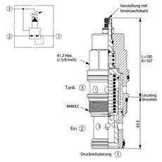 Bild von Druckreduzierventil PP-19A-30-B-L