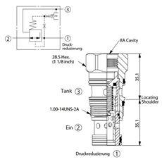 Bild von Druckreduzierventil PP-2A-30-W-8