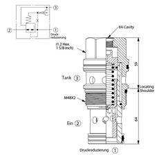 Bild von Druckreduzierventil PP-19A-30-W-8